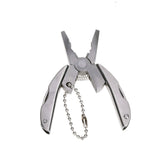 Multifunctional folding plier tool