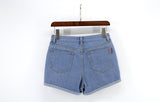 Denim shorts for women