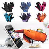 Outdoor sports touch screen gloves
