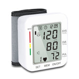 Digital wrist blood pressure measuring instrument