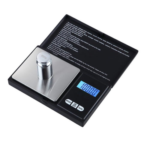 Digital LCD display scales