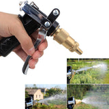 Multifunctional water hose nozzle