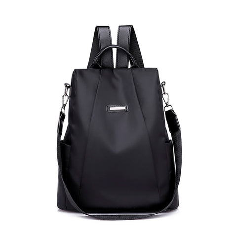 Anti-theft backpack for women