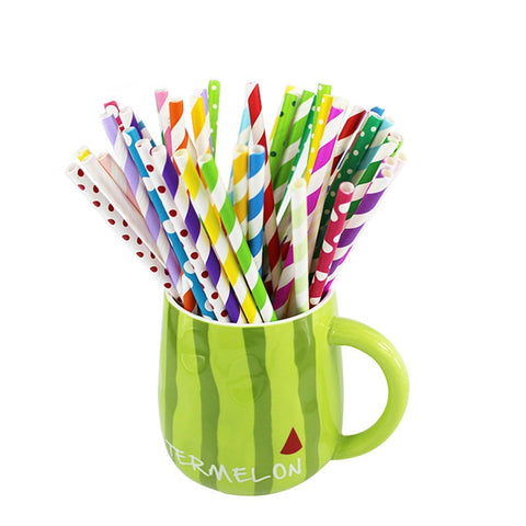Large party straws