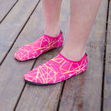 Unisex geometric AQUA non-slip shoes