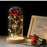 Artificial LED forever rose