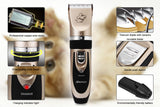 Electrical pet grooming fur trimmer