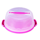 Cake carrier with lid