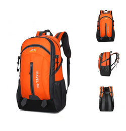 40L outdoor USB backpack