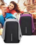 Multifunctional USB charger laptop backpack