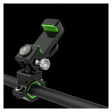 Flexible LED light mobile phone holder for bicycle