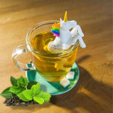Unicorn tea strainer
