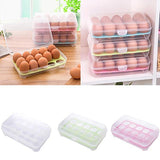 15 slot egg storage box