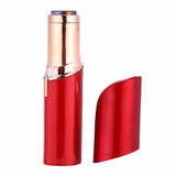 Lipstick shaped hair remover machine