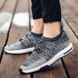Knitted fabric sneakers