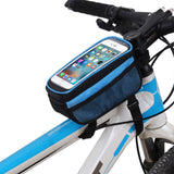 Touch screen bicycle bag