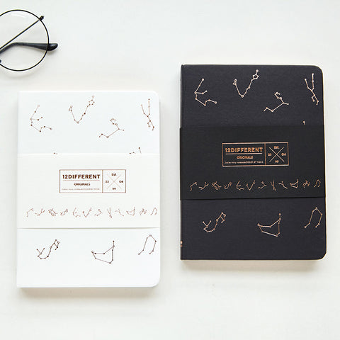 Constellation hard cover diary