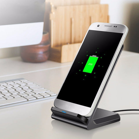 Wireless charger dock