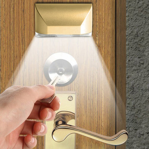 Motion sensor door night light