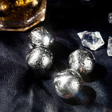 4 x whisky rocks steel balls