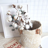 Cotton flower decoration