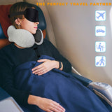 U shaped мemory foam neck pillow