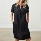 Casual short sleeve dress