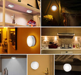 Wireless touch sensor LED night light set
