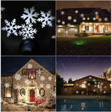 Snowflake LED light projector