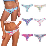 Flamingo thong panties set of 3