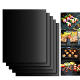 Reusable barbecue baking mat - set of 2