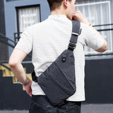 Unisex messenger travel bag