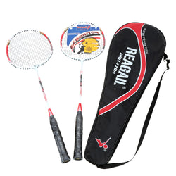 Badminton rackets with bag
