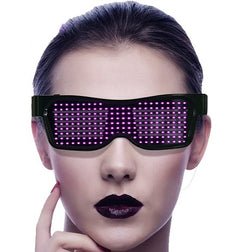 APP control Bluetooth luminous party glasses