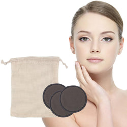 Reusable make up removing pads set of 12 pcs