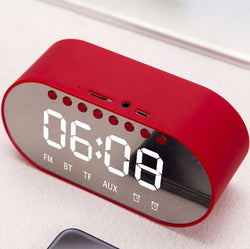 2 in 1 T1 Bluetooth speaker and alarm clock