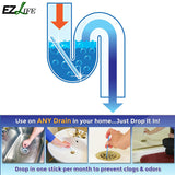 Kitchen sink drain cleaner
