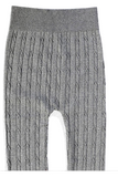 Knitted style warm leggings for kids