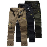 Outdoor mountain climbing trousers with detachable legs