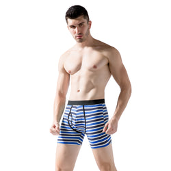 3 pcs striped long underwear for men