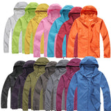 Casual rain & wind jacket with hood