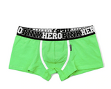 Solid colour boxers set for men 4pack