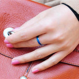 Set of 2 colour changing mood rings