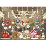Christmas window stickers set