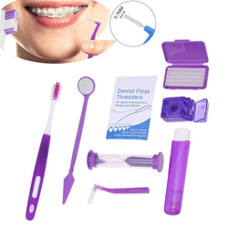 Orthodontic teeth care kit