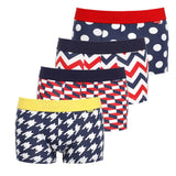 Cotton boxers for men 4pack