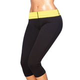 Sweat sauna body shaper fat burn pants