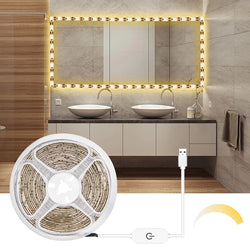 Dimmable touch switch LED light strip