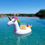 Inflatable unicorn drinks cup