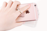 Finger ring pop socket for smartphone
